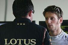Formel 1 - Probleme im Windschatten: Grosjean wartet vergeblich auf Gr�n