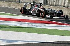 Formel 1 - Gro�e Freude �ber Platz f�nf: H�lkenberg: Nerviges Duell mit Rosberg