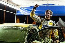 ADAC OPEL Rallye Cup - Titelgewinn in der Junior-Wertung: Bilderbuchtag f�r Marijan Griebel