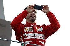 Formel 1 - Da greift sogar Alonso zum Telefon: Italien GP: Die Tops & Flops