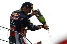 Formel 1 - Bestes Monza-Ergebnis: Webber: Zum Abschied aufs Podium