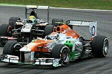 Formel 1 - Force India bangt um WM-Rang sechs