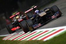 Formel 1 - Bild durch Windschatten verzerrt: Topspeeds in Monza: Ferrari-Power vorn