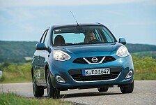 Auto - Neu gestylte Frontpartie: Neuer Nissan Micra startet