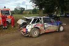 Rallye - Schwerer Unfall von Kubica