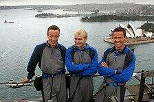 WRC - Nichts f�r Leute mit H�henangst: Video - Klettertour als Vorbereitung