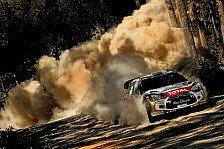 WRC - Ohne Testfahrt zur Bestzeit: Video - Tag 1 in Australien aus Sicht von Citroen