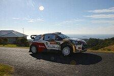 WRC - Kilometer auf k�hlem Asphalt: Meeke testet den Citroen f�r Monte Carlo