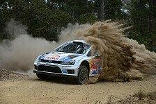 WRC - (Fast) perfekter Tag: Australien: Ogier komfortabel in F�hrung