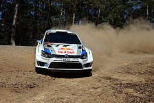 WRC - Neuville verhindert vorzeitigen Titelgewinn: Ogier gewinnt in Australien