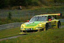 NLS - Manthey Racing gewinnt Abbruchrennen
