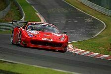 VLN - Zielankunft f�r den Ferrari 458 GT3: Podium und GT3-Premiere f�r GT Corse