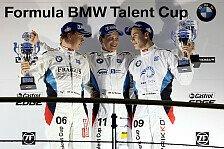 Formel BMW - Entscheidung f�llt am Sonntag: Menzel feiert Sieg im zweiten Finalrennen