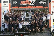 WRC - Bilderserie: Rallye Australien - Die Stimmen nach Tag 4