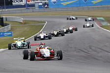 Formel 3 Cup - Zahlreiche Highlights: Zielflagge f�r Formel 3 Cup 2013