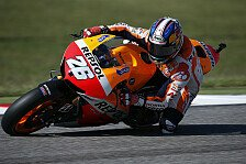 MotoGP - Mehr als Platz drei nicht drin: Pedrosa war am Maximum