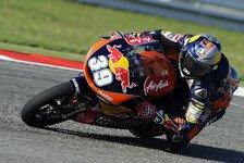 Moto3 - Masbou und Antonelli in Reihe eins: Salom schnappt sich die Pole