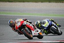 MotoGP - Alles so cool und aufregend vor dem TV: Pedrosa, Rossi: Bridgestone hat MotoGP geschadet