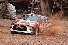Rallye - Griebel mit gelungenem Debut im Citroen DS3 R3T
