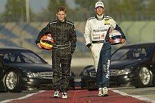 DTM - Super coole Erfahrung : Buhk und G�tz im DTM Mercedes auf dem Lausitzring