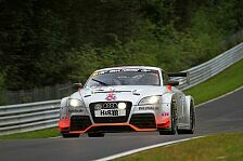 VLN - Starkes Podium f�r Schmersal & Metzger: Dritter Rang f�r Audi TT-RS von race&event