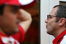 Formel 1 - So lange wir mathematische Chance haben: Ferrari gibt Fahrer-WM noch nicht auf