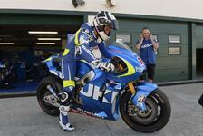 MotoGP - De Puniet ziert sich mit Unterschrift: Suzuki testet in Sepang, aber mit wem?