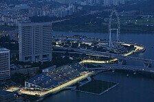 Formel 1 - Hohe Belastung f�r die Fahrer: Wetterprognose f�r den Singapur GP