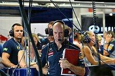 Formel 1 - H�sslich & ein Sicherheitsrisiko: Newey kritisiert neue Nasengeneration