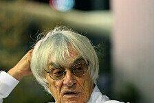 Formel 1 - Williams regelm��ig Geld geborgt: Ecclestone bangt um zwei Teams
