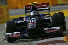 GP2 - Dreikampf an der Spitze: Jolyon Palmer auf Pole-Position