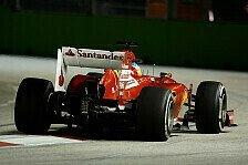 Formel 1 - Ferrari f�hrt hinterher: Alonso: Sind nicht konkurrenzf�hig