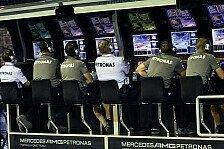 Formel 1 - Schwieriges Rennen f�r Mercedes: Brawn: Rosberg-Stopp wird untersucht