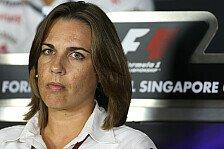 Formel 1 - Ich f�hle den Druck: Claire Williams: Nicht an der Krise schuld