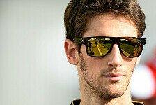 Formel 1 - Grosjean einer der Besten: Lopez: Grosjean nicht auf Lotus-Schleudersitz