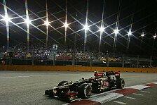 Formel 1 - Deshalb f�hrt Valsecchi nicht: Lotus: Schumacher w�re witzig gewesen