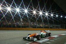 Formel 1 - Hoffnung Rennspeed: Sutil: Zu langsam f�r die Top-10