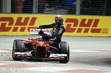Formel 1 - Bilderserie: Singapur GP - Reaktionen auf Webbers Taxifahrt