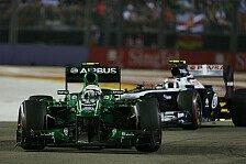 Formel 1 - Pic brachte die Reifen nicht durch: Van der Garde freute sich �ber Bottas-Duell