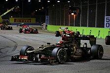 Formel 1 - Motor mit eigenem Plan: Ausfall: Pechvogel Grosjean geht die Luft aus