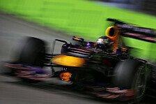 Formel 1 - Vettel siegte mit 18 km/h R�ckstand auf Spitze: Topspeeds in Singapur: Mercedes voran