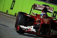 Formel 1 - Reifen sind schuld am Misserfolg: Alonso: Wir hoffen auf 2014