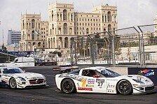 Blancpain GT Serien - Erste Runden auf dem neuen Kurs: Video - Im Simulator �ber die Baku-Strecke