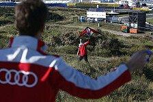 DTM - Audi-Piloten beim Drachen steigen lassen