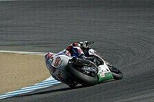 Superbike - Fabrizio ist auf einem guten Weg: Haslam denkt an 2014