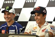 MotoGP - Lorenzo: Er sollte einen Bonus kriegen: Meinungen zur Marquez-Strafe