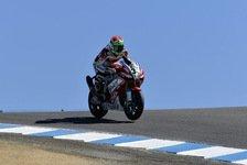 Superbike - Sp�tes Man�ver sichert Rang zwei: Giuliano: 0,1 Sekunden fehlten zum Sieg