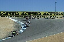 Superbike - Sykes-Jagd durch den Korkenzieher: Vorschau: Laguna Seca