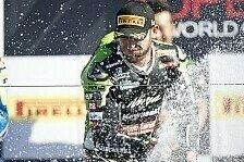Superbike - Guintoli und Laverty wollen noch eins draufsetzen: Sykes: Erste Runden waren komisch
