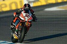 Superbike - Starke Laguna-Seca-Performance blieb unbelohnt: Nur Rang f�nf: Viel Frust bei Guintoli